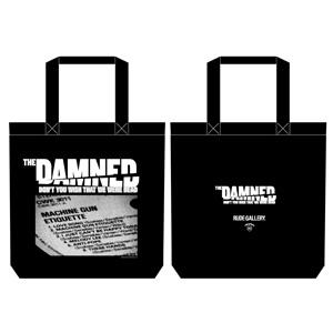 DAMNED / ダムド / 映画 THE DAMNED「地獄に堕ちた野郎ども」x RUDE GALLERY-TOTE BAG