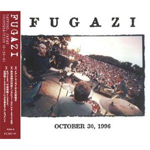 FUGAZI / フガジ / 10/30/96 SAPPORO,JAPAN COUNTERACTION