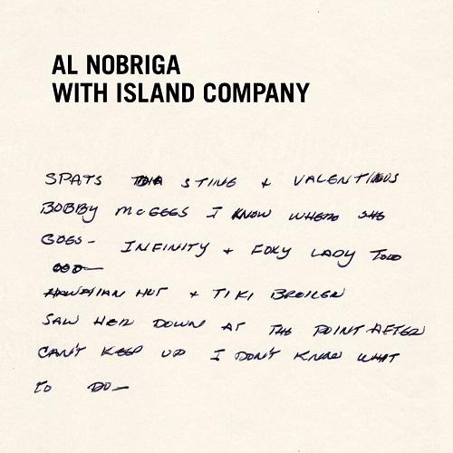 "AL NOBRIGA WITH ISLAND COMPANY / MY LAST DISCO SONG / BREAK AWAY (2ND PRESS - BLACK LABEL) (7"")"