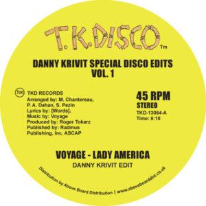 VOYAGE / ヴォヤージ / DANNY KRIVIT SPECIAL DISCO EDITS VOL.1