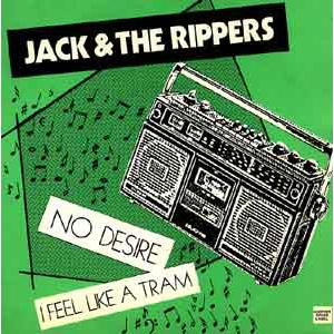 "JACK & THE RIPPERS / ジャックアンドザリッパーズ / NO DESIRE (7"")"