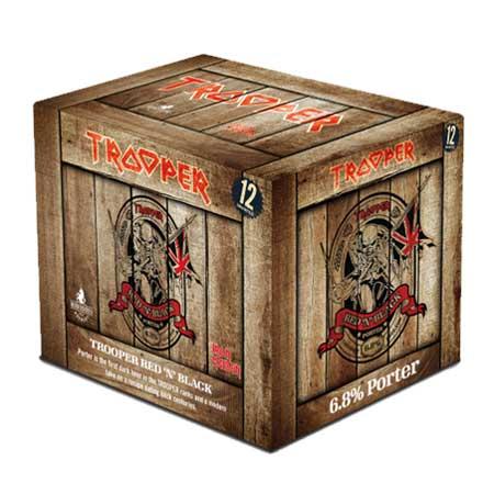 IRON MAIDEN / アイアン・メイデン / RED'N'BLACK PORTER 12 PACK / トゥルーパー  レッド'ン' ブラック ポーター12パック / 1本あたり480円(税込)