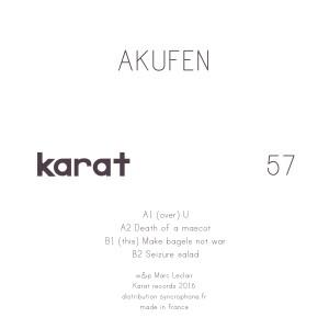 AKUFEN / アクフェン / EP | dis...
