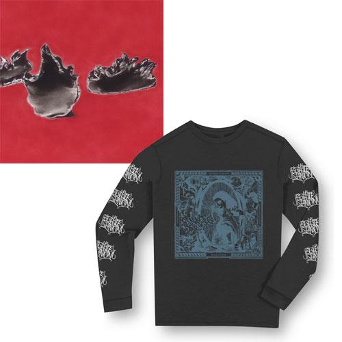 black ganion third ロングスリーブtシャツ付セット l diskunion