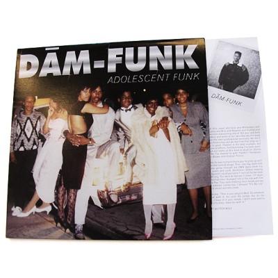 DAM-FUNK / デイム・ファンク / ADOLESCENT FUNK アナログ2LP