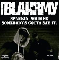 """BLAHRMY / SPANKIN' SOLDIER 限定アナログ12"""""""