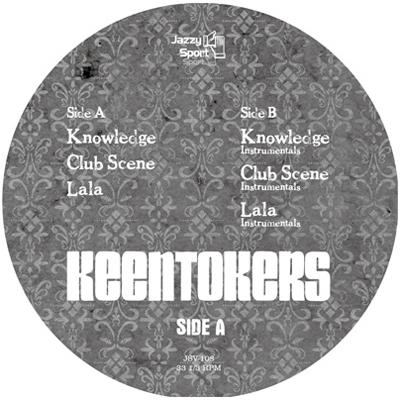 "Keentokers (Budamunk + Joe Styles + OYG) / キーントーカーズ / Knowledge アナログ12"""