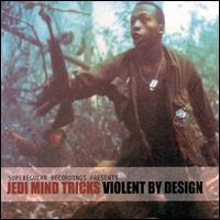 JEDI MIND TRICKS / VIOLENT BY DESIGN (CLEAR VINYL-LIMITED EDITION) アナログ2LP