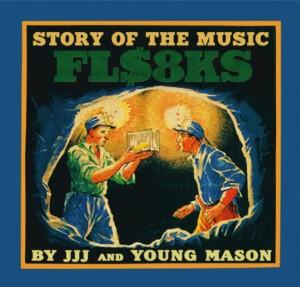 FLA$HBACKS (Febb+jjj+KID FRESINO) / フラッシュバックス - flashbacks / FL$8KS アナログ2LP - 見開きジャケット