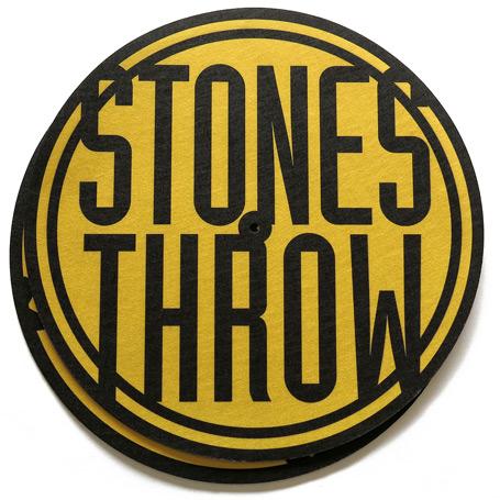 stones throw slipmats 2枚セット hiphop 日本語rap