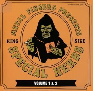 "MF DOOM (DOOM , METAL FINGERS, KING GEEDORAH) / MFドゥーム / SPECIAL HERBS VOL.1 & 2 アナログ2LP + 7"""