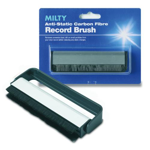 レコードクリーナー / MILTY レコードクリーナー 静電気除去ブラシ RECORD BRUSH