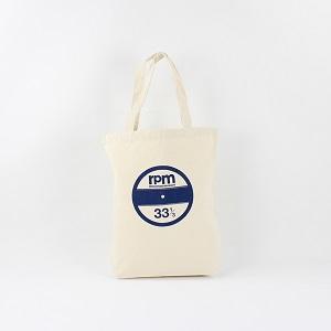 rpm / rpm 33 1/3 TOTE BAG