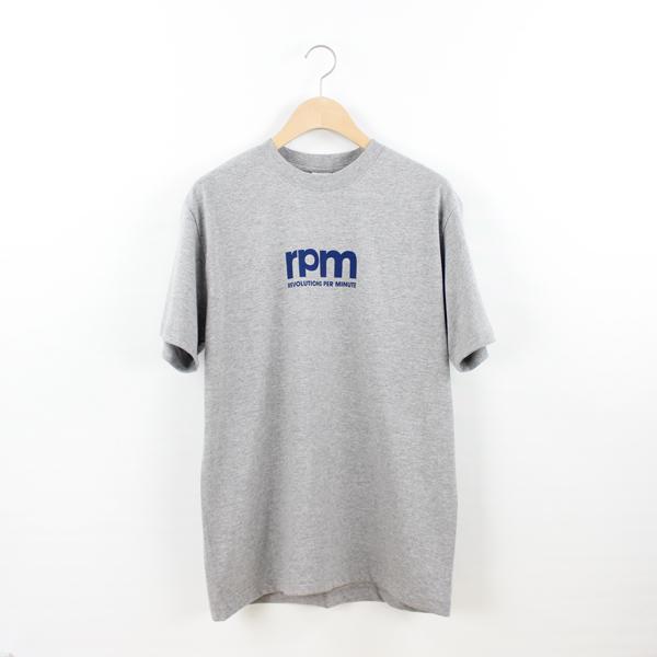 rpm / rpm LOGO Tシャツ (グレー) Sサイズ