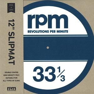 """スリップマット / rpm 12"""" SLIPMAT"""