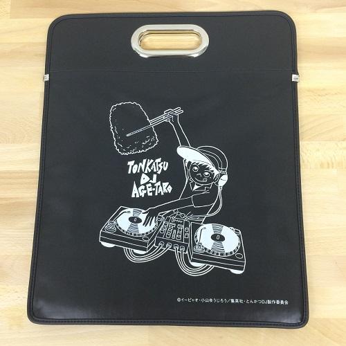 レコードバッグ / とんかつDJアゲ太郎×ディスクユニオン LPキャリングバッグ