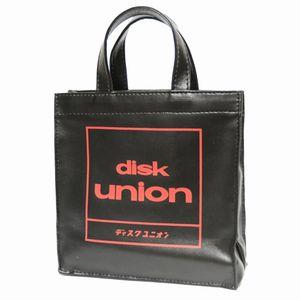 CDバッグ / disk union CD mini BAG赤黒 DU-002