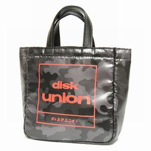 CDバッグ / disk union CD mini BAG ブラックカモ DU-004