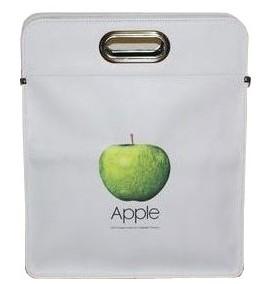 アップルソフトレザーバッグ 白 L