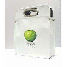 アップルソフトレザーバッグ 白  S