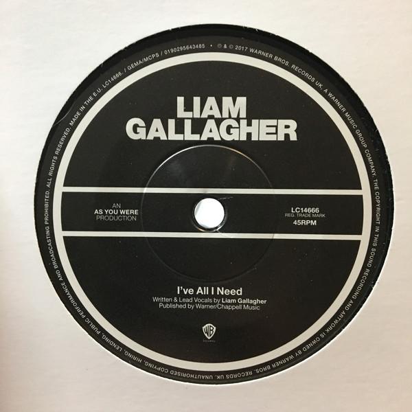 LIAM GALLAGHER / リアム・ギャ...