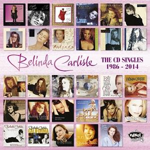 BELINDA CARLISLE / ベリンダ・カーライル / CD SINGLES 1986 - 2014  (29CDS)