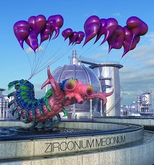 FEVER THE GHOST / ZIRCOMIUM MECOMIUM (LP)