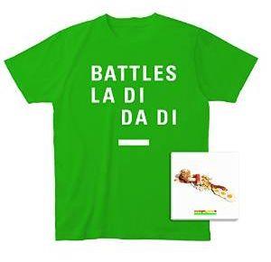 BATTLES / バトルス / LA DI DA DI / ラ・ディ・ダ・ディ + Tシャツ付きセット (S)