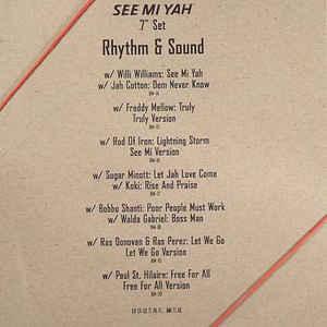 "RHYTHM & SOUND / See Mi Yah-7"" Set"