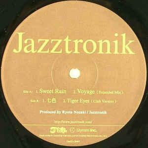 JAZZTRONIK / ジャズトロニック / 10th anniversary 4 track EP