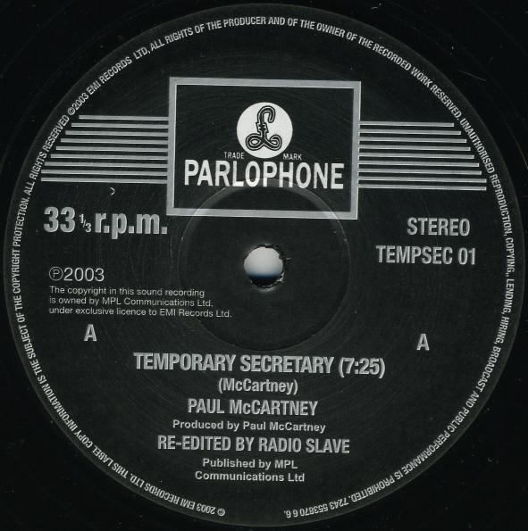 PAUL McCARTNEY / ポール・マッ...