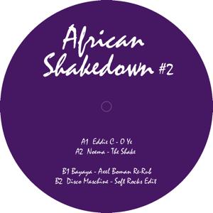 V.A.(EDDIE C,NOEMA,AXEL BOMAN...) / AFRICAN SHAKEDOWN #2