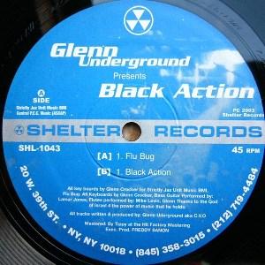 GLENN UNDERGROUND / グレン・アンダーグラウンド / BLACK ACTION