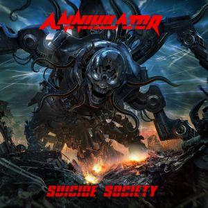 ANNIHILATOR / アナイアレイター / SUICIDE SOCIETY
