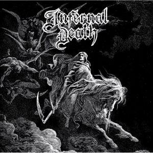 INFERNAL DEATH (from Denmark) / DEMO #1/ A MIRROR BLACKEND