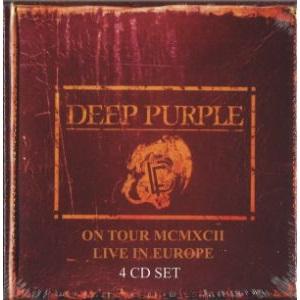 DEEP PURPLE / ディープ・パープル / LIVE IN EUROPE<4CD / BOX>