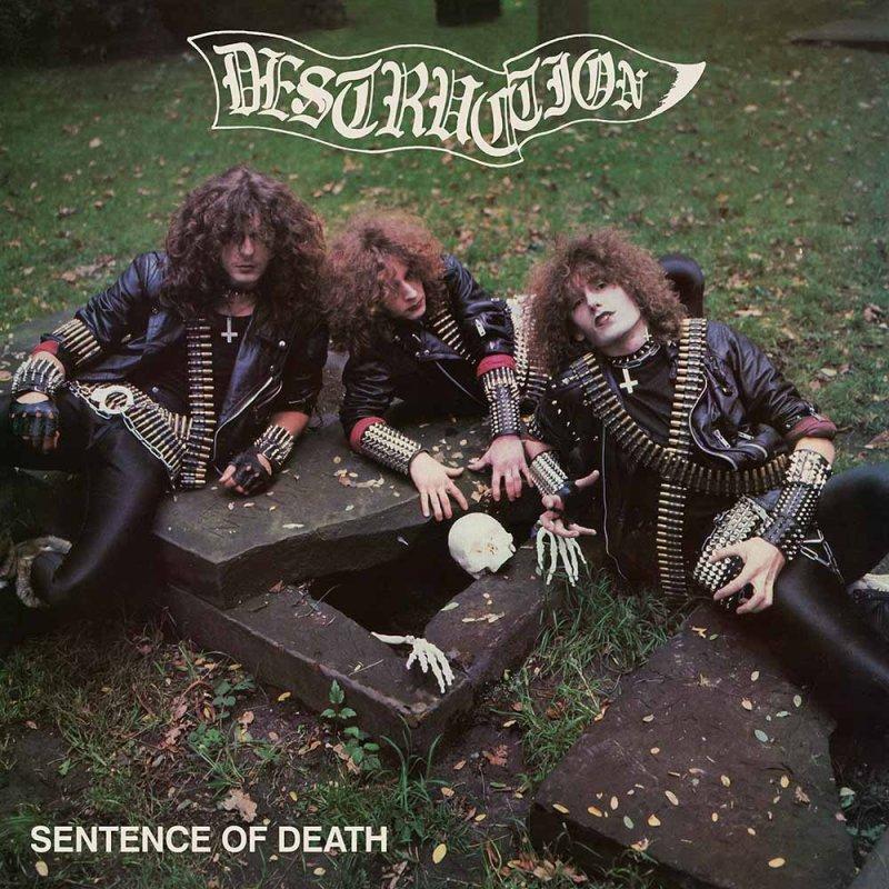destruction デストラクション sentence of death us cover