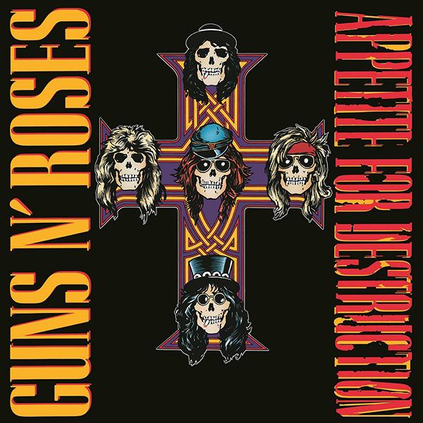 ガンズ・アンド・ローゼズ最強のデビュー作にして、ロック史に聳え立つ最重要アルバムの1つ、『アペタイト・フォー・ディストラクション』が、最新リマスター、