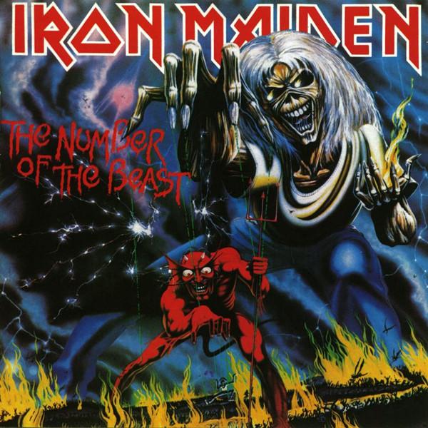 iron maiden アイアン メイデン the number of the beast digi