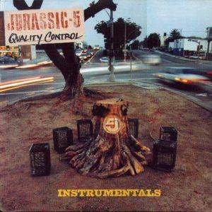 JURASSIC 5 / ジュラシック・ファイヴ ジュラシック5 / QUALITY CONTROL INSTRUMENTALS - US ORIGINAL PRESS -