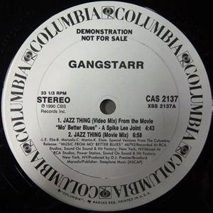 GANG STARR / ギャング・スター / JAZZ THING - US ORIGINAL PROMO PRESS -