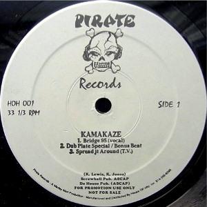 KAMAKAZEE (KAMAKAZE) / SPREAD IT / BRIDGE 95 - UNOFFICIAL REISSUE PRESS -