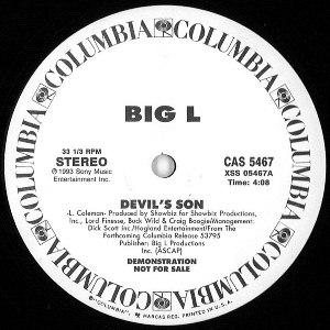 BIG L / ビッグL / DEVIL'S SON - US ORIGINAL PROMO PRESS -