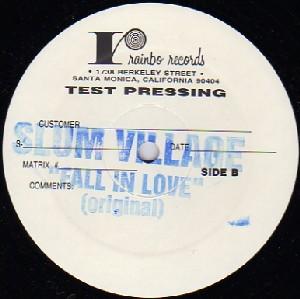 SLUM VILLAGE / スラムヴィレッジ / FALL IN LOVE (REMIX) - TEST PRESSING -