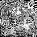 ABIGAIL:SYPHILITIC VAGINAS / SPLIT (レコード)