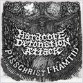 """PISSCHRIST:FRAMTID / HARDCORE DETONATION ATTACK (7"""")"""