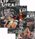 LIP CREAM リップクリーム / 2009年11月27日発売のDVD #4, #5, #6のまとめ買いセット (先着特典:ステッカーシート付き)