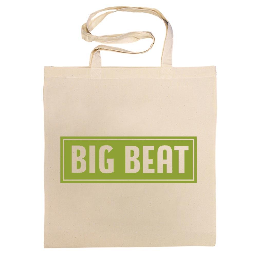 ACE RECORDS TOTE BAG / BIG BEAT 'DECCA' LABEL COTTON BAG (KIWI GREEN)