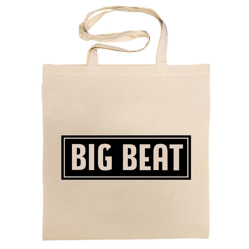 ACE RECORDS TOTE BAG / BIG BEAT 'DECCA' LABEL COTTON BAG (BLACK)