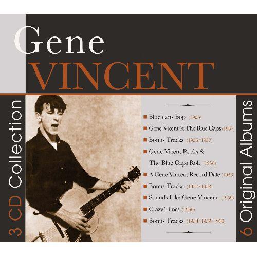 GENE VINCENT / ジーン・ヴィンセント / 6 ORIGINAL ALBUMS